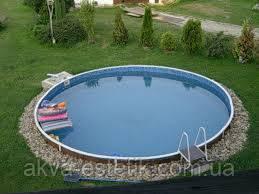 Збірний плівковий басейн MILANO 5,00x1,5 плівка 0,6 мм