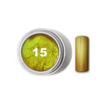 """Цветной гель № 15 METALLIC COLLECTION Inca Gold 5 мл """"Gelliant"""""""