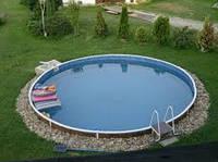 Збірний плівковий басейн MILANO 5,00x1,2 плівка 0,8 мм