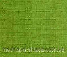 """Тканевые рулонные шторы """"Oasis"""" лен (зеленый), РАЗМЕР 45х170 см"""