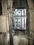 Защита картера двигателя и кпп, абсорбера Chevrolet Captiva 2006-, фото 6