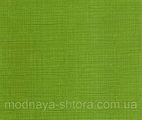 "Тканевые рулонные шторы ""Oasis"" лен (зеленый), РАЗМЕР 50х170 см, фото 1"