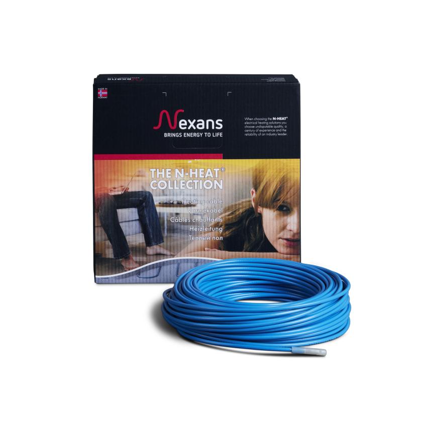 Двожильний гріючий кабель Nexans 9,1м2 TXLP/2R 1250/17, (двожильний нагрівальний кабель Нексанс)