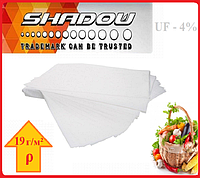 "Агроволокно на метраж 4%, Р-19 г/м²,ширина 1,6, длина отреза 10 м.""Shadow"" (белое), фото 1"