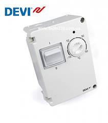 Devireg 610 Терморегулятор герметичний захисту IP-44 для зовнішньої установки