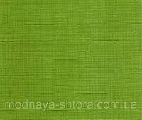 "Тканевые рулонные шторы ""Oasis"" лен (зеленый), РАЗМЕР 57,5х170 см, фото 1"