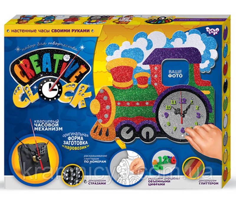 """Настенные часы детские """"Поезд"""", """"Creative Clock"""", СС-01-02"""