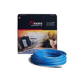 Одожильний гріючий кабель Nexans 3,7м² TXLP/1 500/17, (одножильный нагревательный кабель Нексанс)