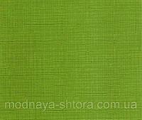 "Тканевые рулонные шторы ""Oasis"" лен (зеленый), РАЗМЕР 65х170 см, фото 1"