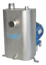 Самовсасывающий центробежный индустриальный насос TAPFLO - CTS I DD 1SSE3F-40X2e (Швеция)