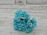 Сложные тычинки на проволоке, Голубые, фото 1