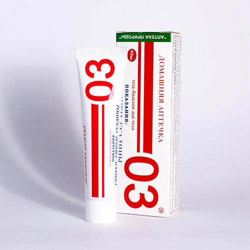 Домашняя аптечка 03 для тела (Дана-Я,гель-бальзам 40мл )
