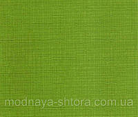 "Тканевые рулонные шторы ""Oasis"" лен (зеленый), РАЗМЕР 75х170 см, фото 1"