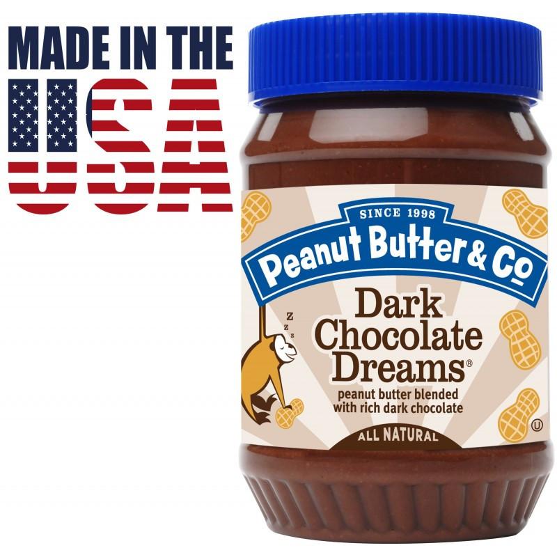 Арахісова паста з чорним шоколадом Peanut Butter & Co. Dark Chocolate Dreams 462 грамів. США