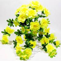 Букет искусственных цветов Азалия  (10 шт)