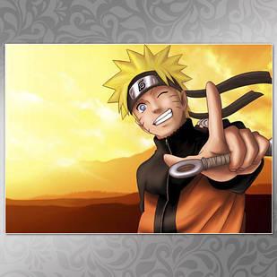 Плакат Аниме Naruto