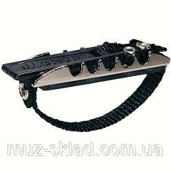 Dunlop 11FD каподастр для класскической гитары, эластичный, плоский
