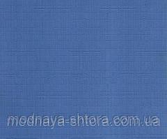 """Тканевые рулонные шторы """"Oasis"""" лен (небесно голубой), РАЗМЕР 45х170 см"""