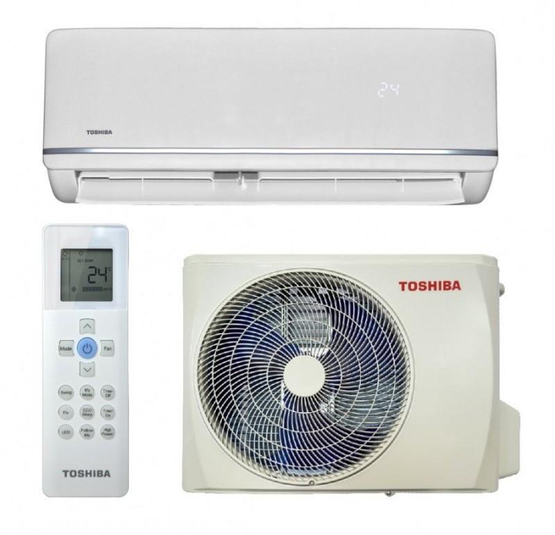 Кондиціонер Toshiba RAS-18U2KH3S-EE/RAS-18U2AH3S-EE сріблястий