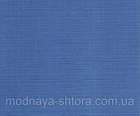 """Тканевые рулонные шторы """"Oasis"""" лен (небесно голубой), РАЗМЕР 47,5х170 см, фото 1"""
