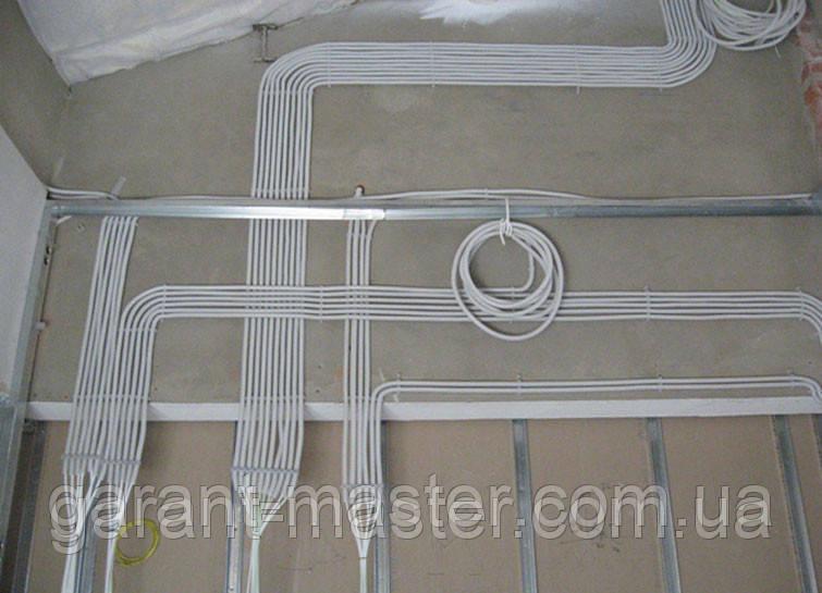 Монтаж, заміна електропроводки в Харкові - фото 1