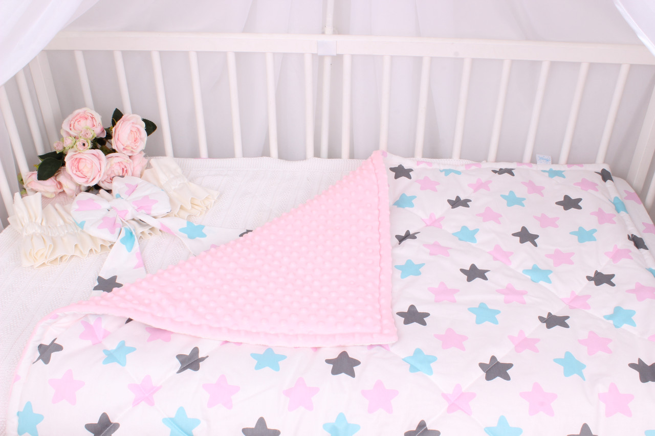 Детское теплое одеяло звёзды