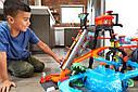 Авто трек Хот Вилс Автомойка, Ultimate Gator Car Wash Playset Hot Wheels, фото 7