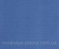 """Тканевые рулонные шторы """"Oasis"""" лен (небесно голубой), РАЗМЕР 50х170 см, фото 1"""