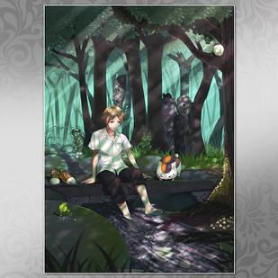 Плакат Аниме Natsume Yuujinchou 10