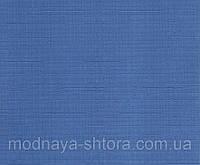 """Тканевые рулонные шторы """"Oasis"""" лен (небесно голубой), РАЗМЕР 60х170 см, фото 1"""