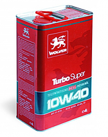 Моторное масло Wolver Turbo Super 10W-40 4л