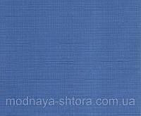 """Тканевые рулонные шторы """"Oasis"""" лен (небесно голубой), РАЗМЕР 62,5х170 см"""