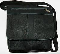Мужские кожаные сумки через плечо 22х23