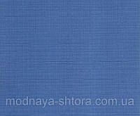 """Тканевые рулонные шторы """"Oasis"""" лен (небесно голубой), РАЗМЕР 82,5х170 см, фото 1"""