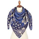 10509-13, павлопосадский платок шерстяной (разреженная шерсть) с швом зиг-заг, фото 2