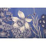 10509-13, павлопосадский платок шерстяной (разреженная шерсть) с швом зиг-заг, фото 3