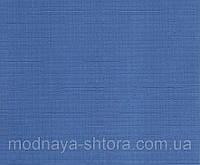 """Тканевые рулонные шторы """"Oasis"""" лен (небесно голубой), РАЗМЕР 120х170 см, фото 1"""
