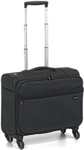 Практичный кейс пилот, мобильный офис 43 л Roncato Venice 405166 01 черный