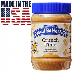 Арахисовая паста с кусочками арахиса Peanut Butter & Co. Crunch Time 462 грамм. США