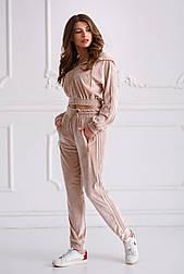 Женский спортивный костюм из бархата №537