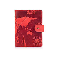"Картхолдер HiArt CH-06 Shabby Red Berry ""7 wonders of the world"""