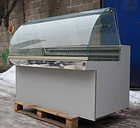 Холодильна вітрина гастрономічна «De Blasi» 1.6 м. (Італія), широка викладка 63 див. Б/у, фото 1