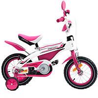 """Велосипед Profi Trike 12BX405-2 12"""" Бело-розовый"""