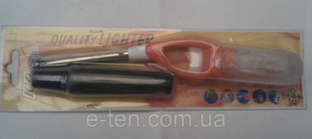 Зажигалка газовая с пьезо элементом и запасным балоном A 41D TREND оранжевая