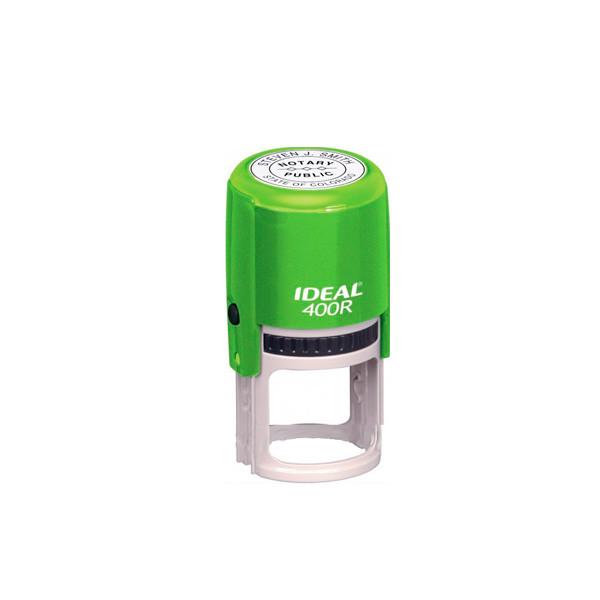 Оснастка кр. печати 40мм TR400R Ideal зел. (син)