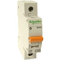 Автоматический выключатель Schneider Electric ВА63 20А 1Р