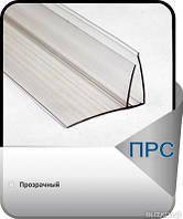 F-пристенный соединительный профиль 4-6мм прозрачный