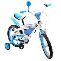 """Велосипед Profi Trike 12BX405-1 12"""" Бело-голубой"""