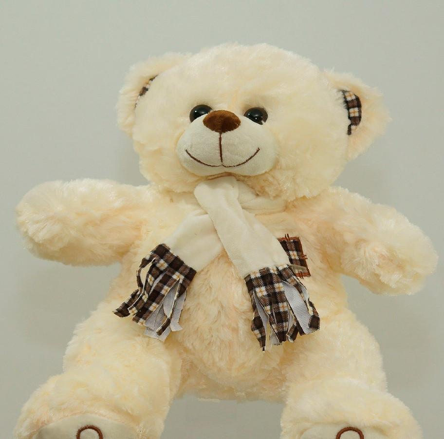 Мягкая игрушка Мишка 41 см игрушка плюшевая на подарок медведь в шарфе
