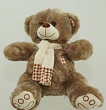 Мягкая игрушка Мишка 41 см игрушка плюшевая на подарок медведь в шарфе, фото 3